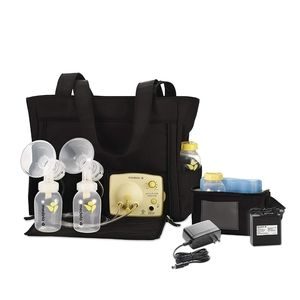 Medela breast pumping kit